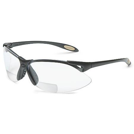 A900 Reader Magnifier Eyewear, +2.0 Diopter Polycarb Hard Coat Lenses, Blk Frame