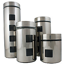 PURELIFE 4 Piece Stainless Steel with
