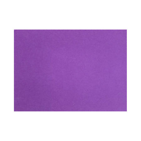 "LUX Flat Cards, A1, 3 1/2"" x 4 7/8"", Purple Power, Pack Of 50"