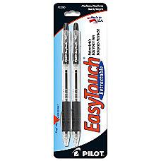 EasyTouch Retractable Ballpoint Pens Medium Point