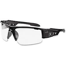 DAGR Clear Lens Black Safety Glasses