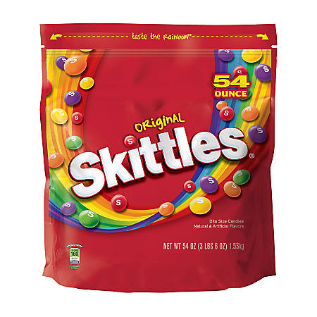 4c4137277ef Skittles Candies 3.3 Lb Bag - Office Depot