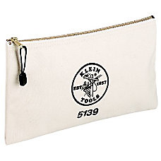 Klein Tools Canvas Zipper Bag
