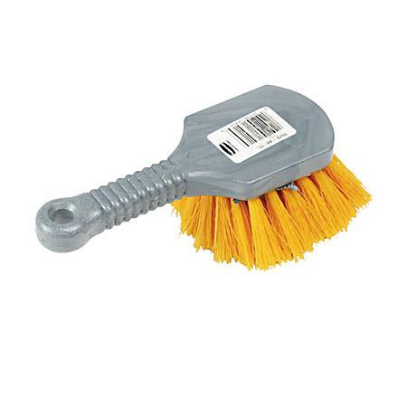 "Rubbermaid Commercial Short Handle Utility Brush - 8"" Length - 1 Each"