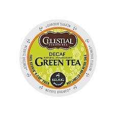 Celestial Seasonings Decaffeinated Green Tea K