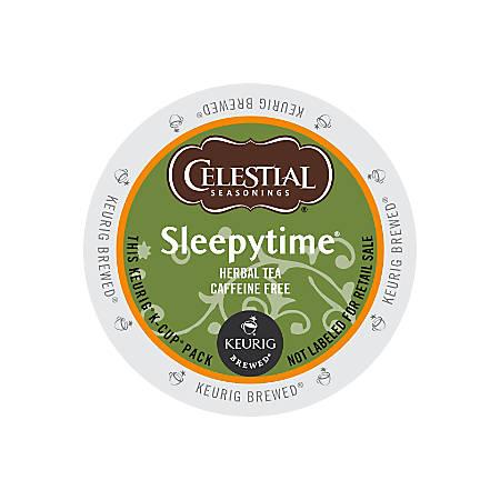 Celestial Seasonings® Sleepytime® Herbal Tea K-Cups®, 0.35 Oz., Box Of 24