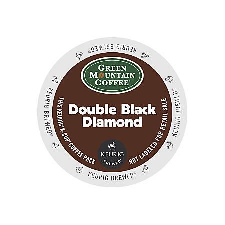 Green Mountain Coffee® Double Black Diamond Extra Bold Coffee K-Cups®, Box Of 24