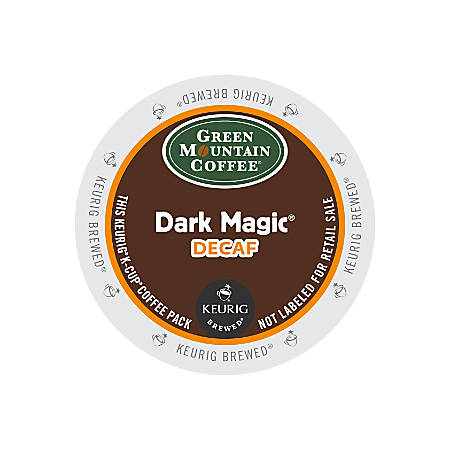 Green Mountain Coffee® Dark Magic® Extra Bold Decaffeinated Coffee K-Cups®, Box Of 24