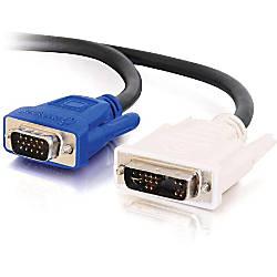 C2G 2m DVI Male to HD15
