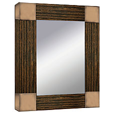 PTM Images Framed Mirror Double Glass
