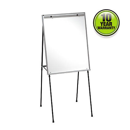 Quartet® Dry-Erase Steel Easel, Black Frame
