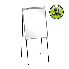 Quartet Dry Erase Steel Easel Black