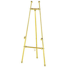 Quartet Decorative Brass Display Easel With