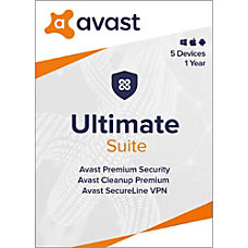Avast Ultimate Security 2020 5 Devices