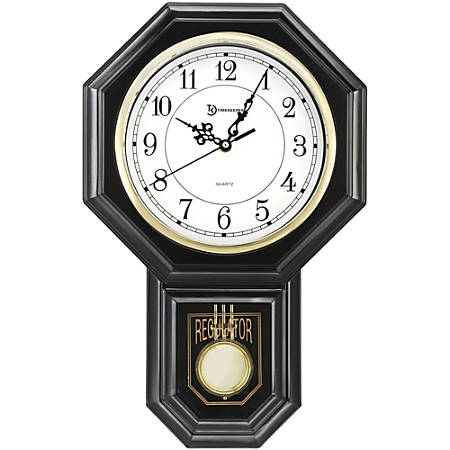 Sima Wall Clock - White Main Dial Case - Traditional Style
