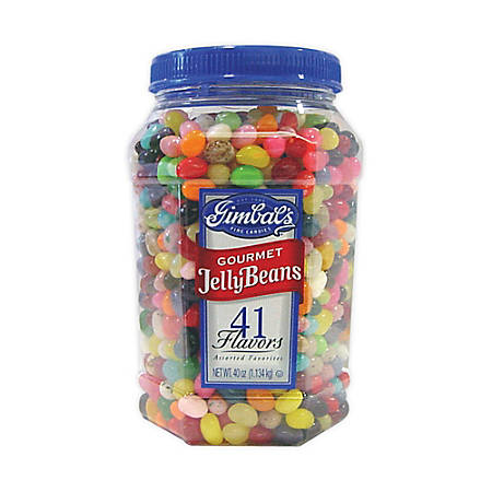 Gimbals Gourmet Jelly Beans, 40 Oz. Tub