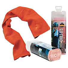 6602 Orange Evaporative Cooling Towel