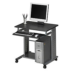 Mayline Group Mobile PC Station AnthraciteMetallic