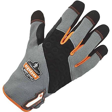 ProFlex 820 High-abrasion Handling Gloves, Small, Gray/Black