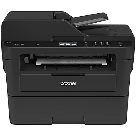 Brother Wireless Monochrome Laser All-In-One Printer, Copier, Scanner, MFC-L2750DW