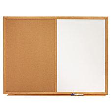 Quartet Combination Dry EraseCork Bulletin Board
