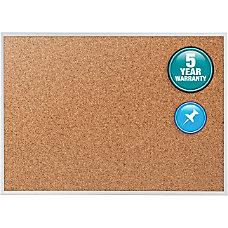 Quartet Natural Cork Bulletin Board With