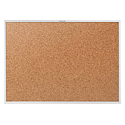 Quartet Classic Cork Bulletin Board 48