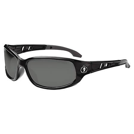 Skullerz Valkyrie Fog-Off Safety Glasses, Medium, Black