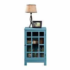 Sauder Carson Forge Display Cabinet Moody
