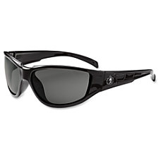Ergodyne Njord Smoke Lens Safety Glasses