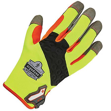 Ergodyne ProFlex 710 Heavy-Duty Utility Gloves, X-Large, Lime
