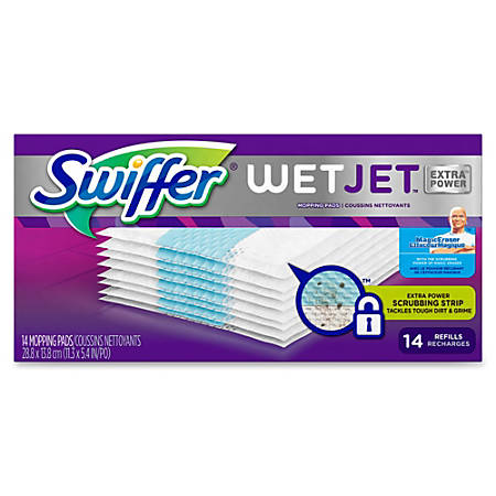 Swiffer® WetJet™ Cleaning Pad Refills, Pack Of 56