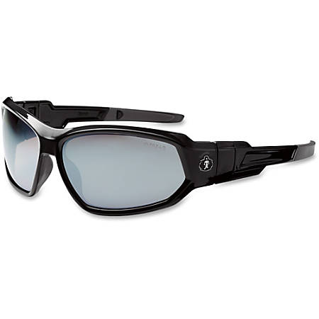 Ergodyne Loki Silver Mirror Lens Safety Glasses