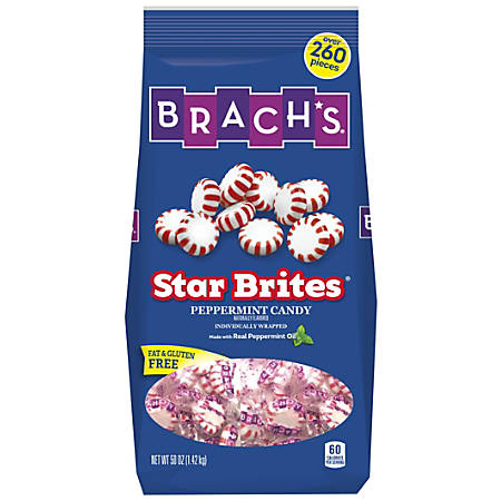 Brach's Star Brites Peppermint Candy, 50 Oz Bag