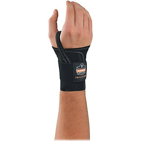 Ergodyne ProFlex® Support, 4000, Single-Strap Wrist, Right, Medium, Black