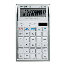 Victor 6400 12 Digit Desktop Calculator