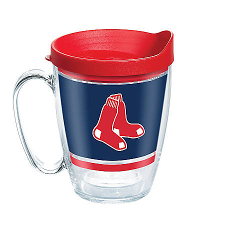 Tervis MLB Legend Coffee Mug With Lid, 16 Oz, Boston Red Sox