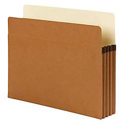 Smead SuperTab File Pockets Letter Size