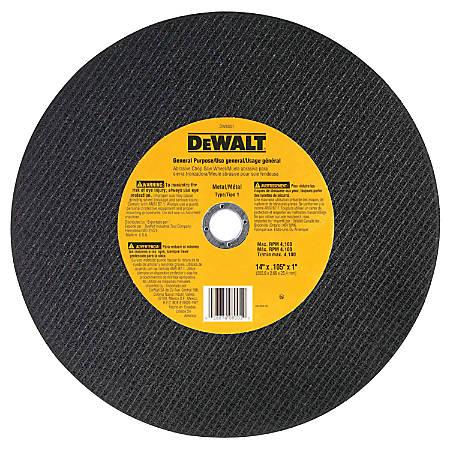 "DeWalt Type 1 General Purpose Cutting Wheel, 14"" Diameter"