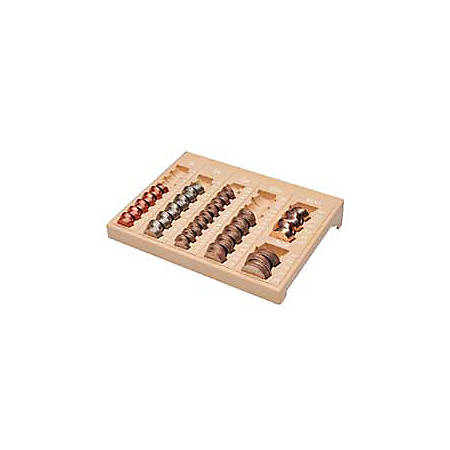 MMF Industries™ Coin Organizer, Beige