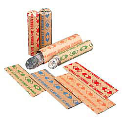 PM Company Coin Wraps Pennies 50Wrap