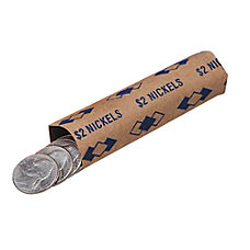 PM Company Coin Wraps Nickels 2Wrap