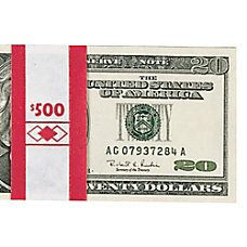 PM Company Currency Bands 50000 Red