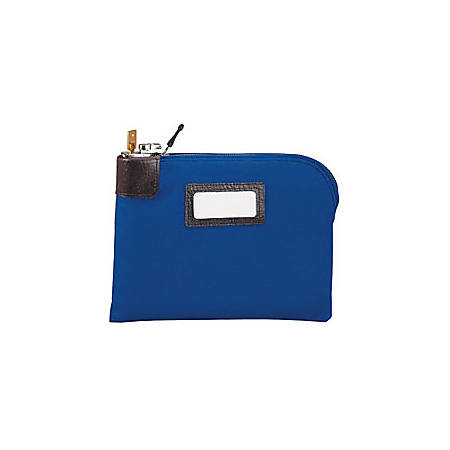 MMF Industries™ Locking Security Bag, Navy