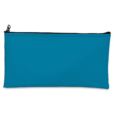 Zipper Top Wallet, Blue