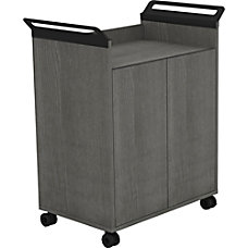 Lorell Mobile Storage Cabinet with 2