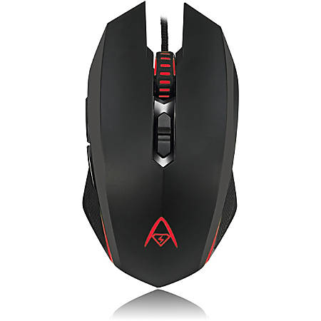 Adesso® iMouse X2 Programmable Gaming Mouse, Multicolor