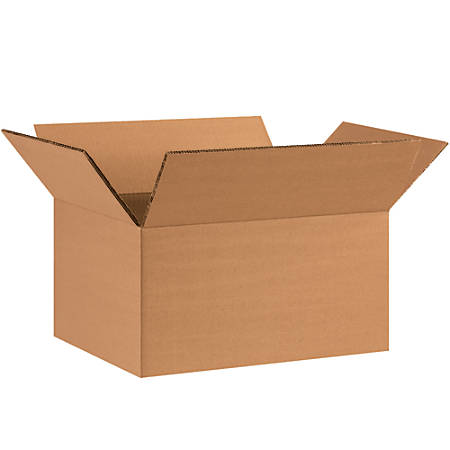 """Office Depot® Brand Double-Wall Corrugated Boxes, 6""""H x 8""""W x 12""""D, Kraft, Pack Of 15"""