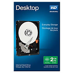 WD Mainstream 2TB Internal Hard Drive