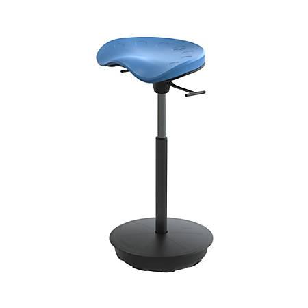 Safco® Active Focal Upright™ Pivot Seat, Blue/Black